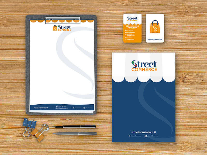 Mockup Street Corporate